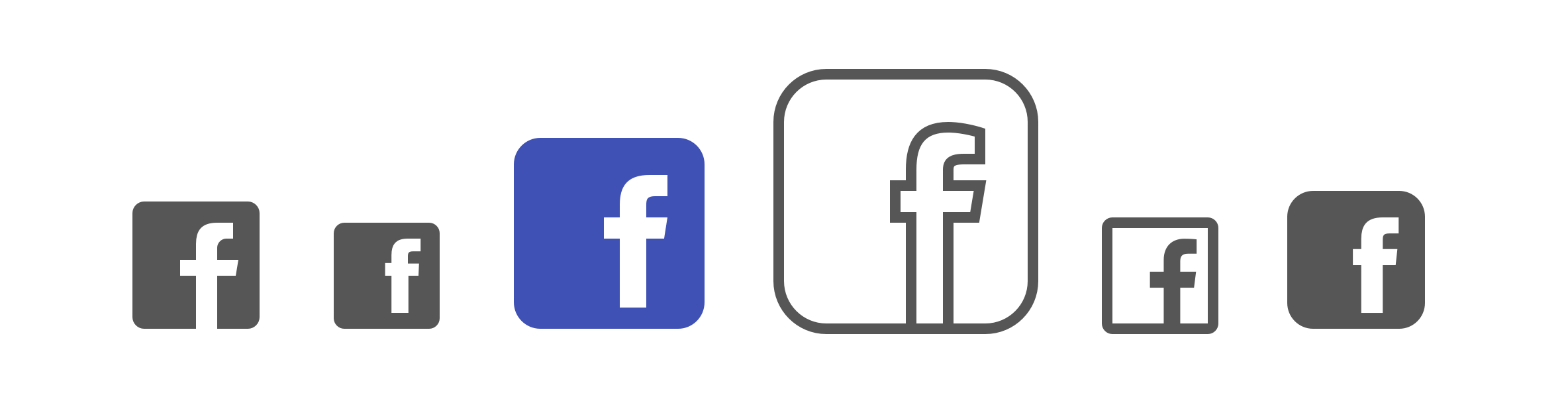 Facebook Icon Vector Free Download At Getdrawings Com Free
