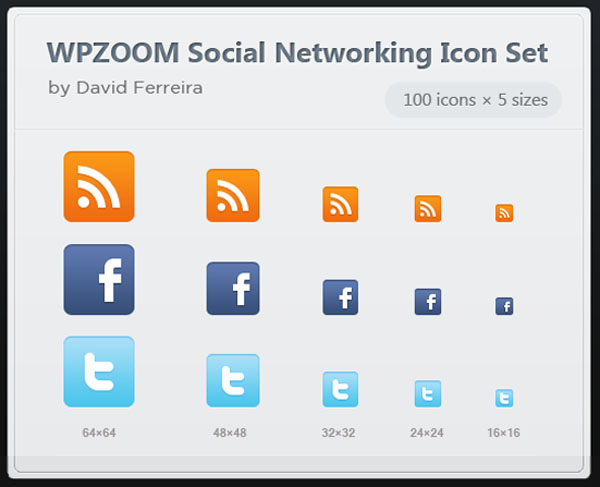 600x487 Free Download 500 Vector Social Networking Icon Set Wpzoom