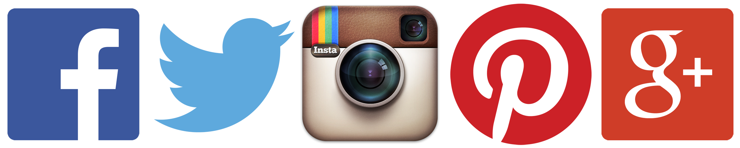 2500x500 Facebook Instagram Twitter Logos
