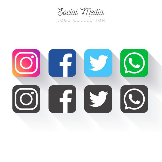 626x626 Logo Facebook Instagram Twitter Vector