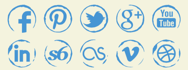 615x231 54 Beautiful [Free!] Social Media Icon Sets For Your Website