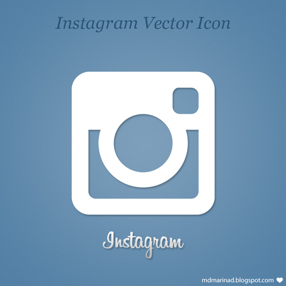 560x560 Free Instagram Vector Icon Logo By Marinad