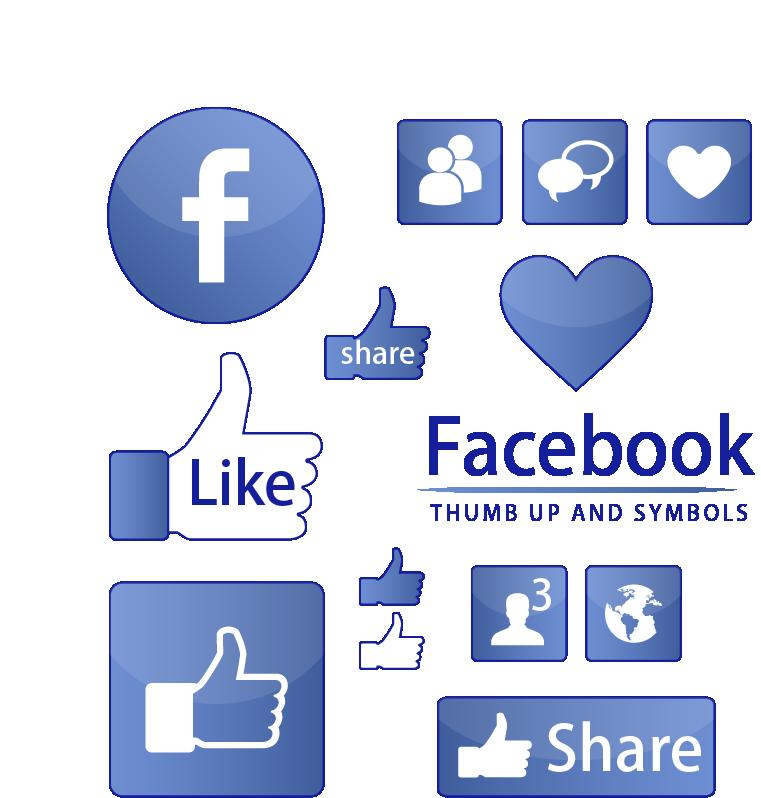 761x798 Facebook Like Button Symbol Icon
