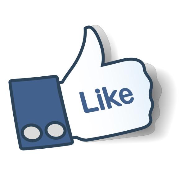 580x580 Clipart Facebook Like Button