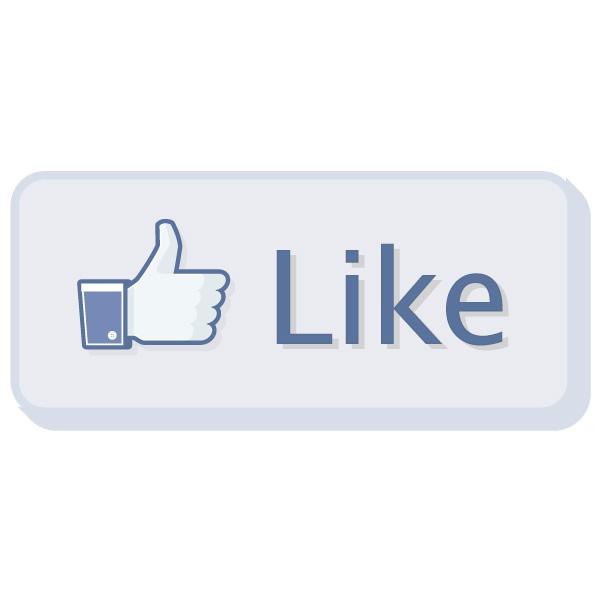 600x600 Facebook Like Button Vector Logo Free Download Vector Logos Art