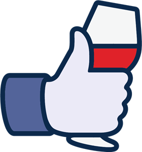 280x300 Facebook Like Wine Icon Logo Vector (.ai) Free Download