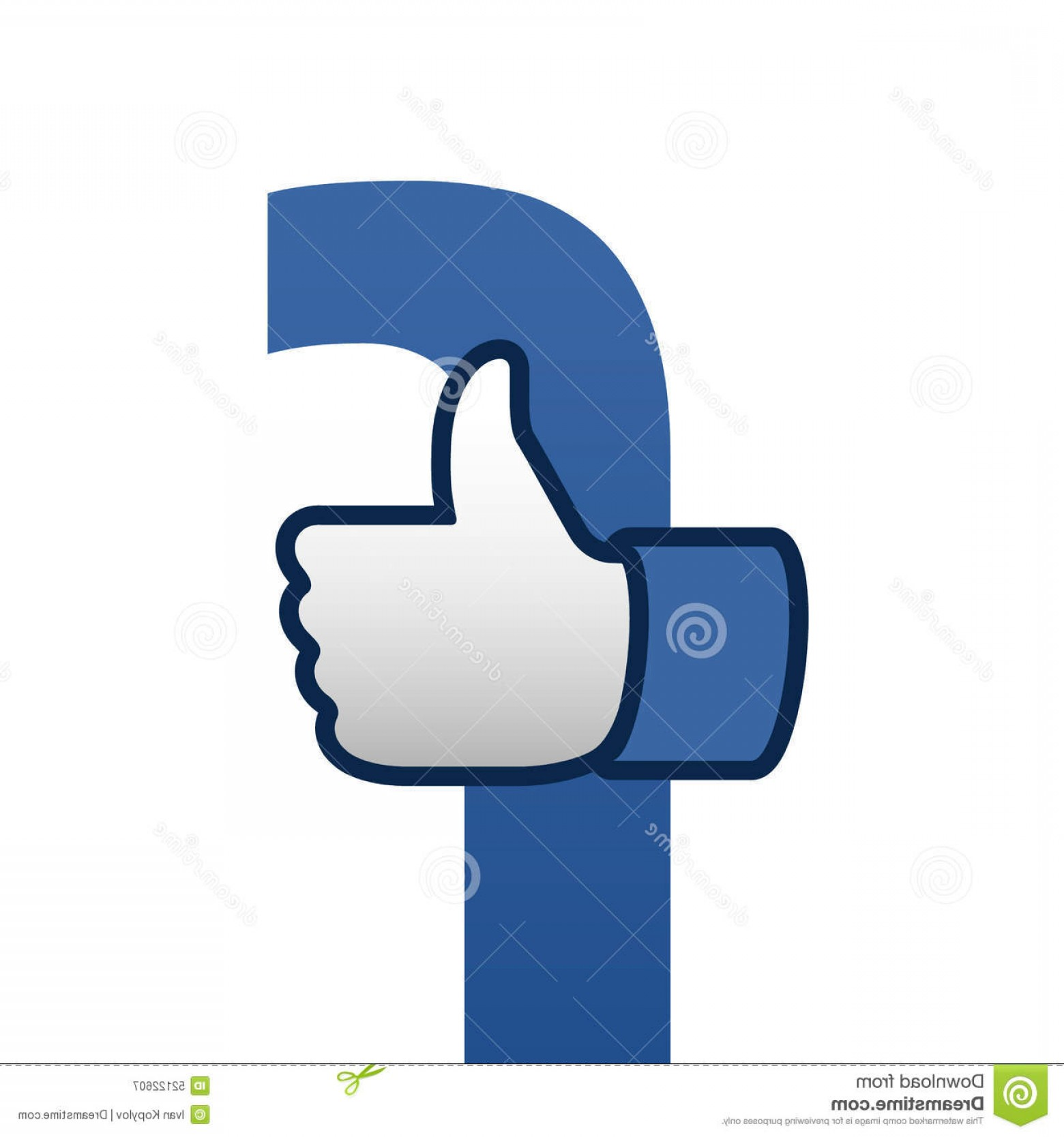 1560x1668 Editorial Photography Facebook Like Thumbs Up Symbol Icon Vector