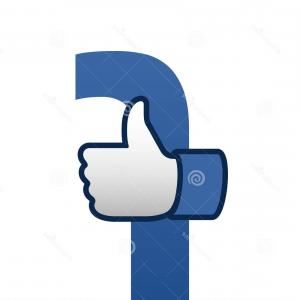 300x300 Editorial Photography Facebook Like Thumbs Up Symbol Icon Vector