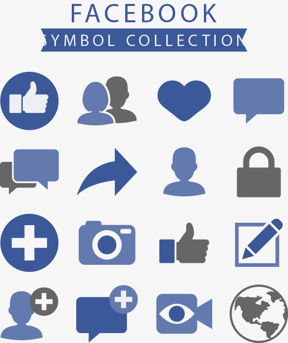 582x693 Facebook Icon Combination, Facebook Icon, Like, Arrow Png And