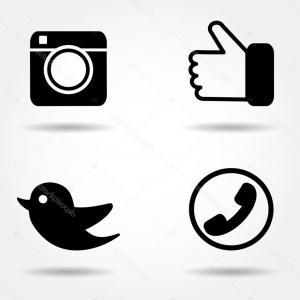 300x300 Find Us On Facebook Logo Transparent Vector Shopatcloth