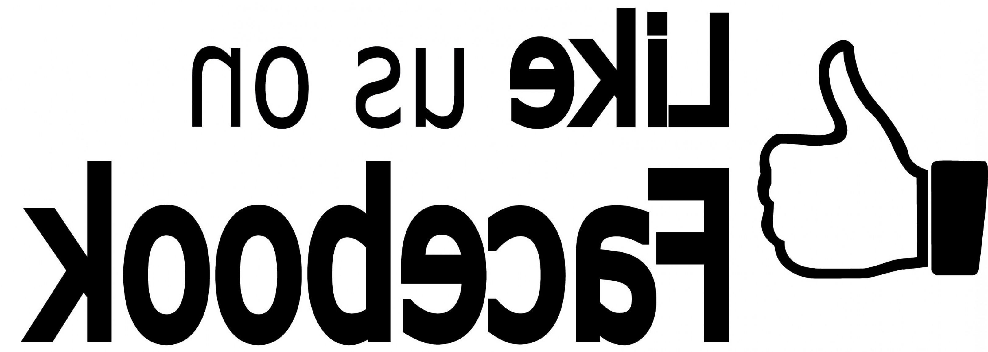 3218x1148 Like Us On Facebook Logo Vector Lazttweet