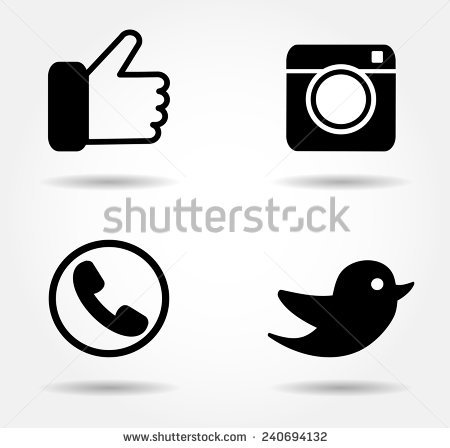 450x448 Free Facebook Icon Black And White Vector 154481 Download