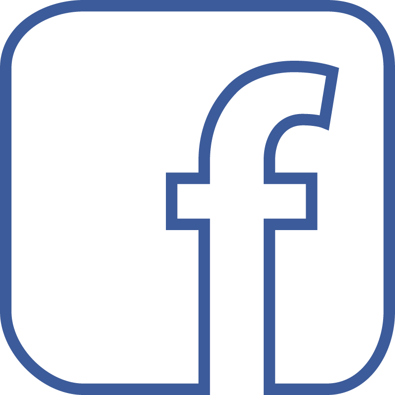 Facebook Logo White Vector