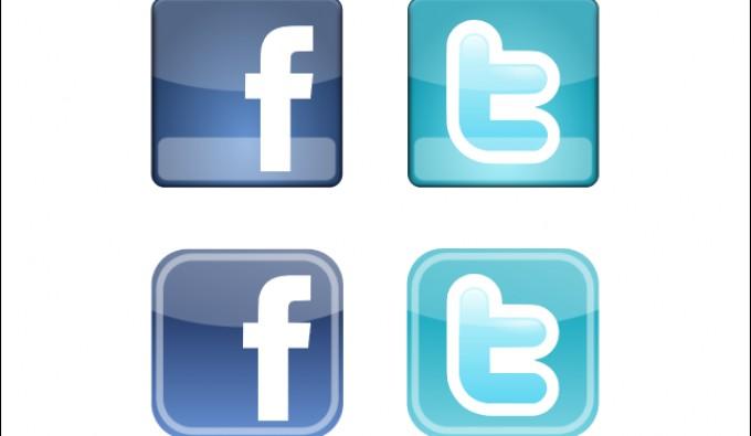 680x395 Facebook Amp Twitter Icons Vectorish