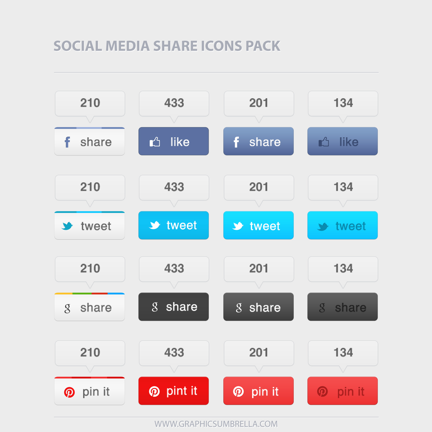 1746x1746 17 Social Media Share Button Icon Images