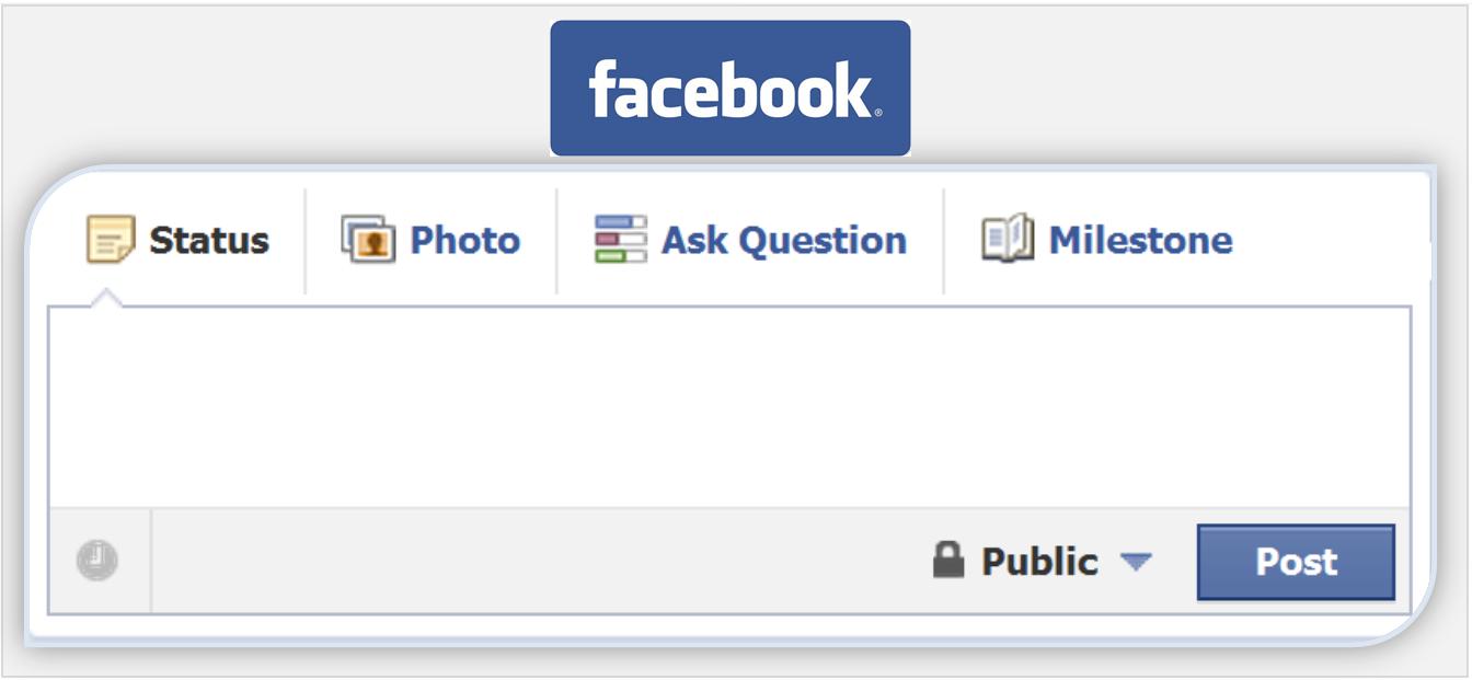 1344x621 Post Share Empty Facebook Status Vector Clipart Icon 1nigehv