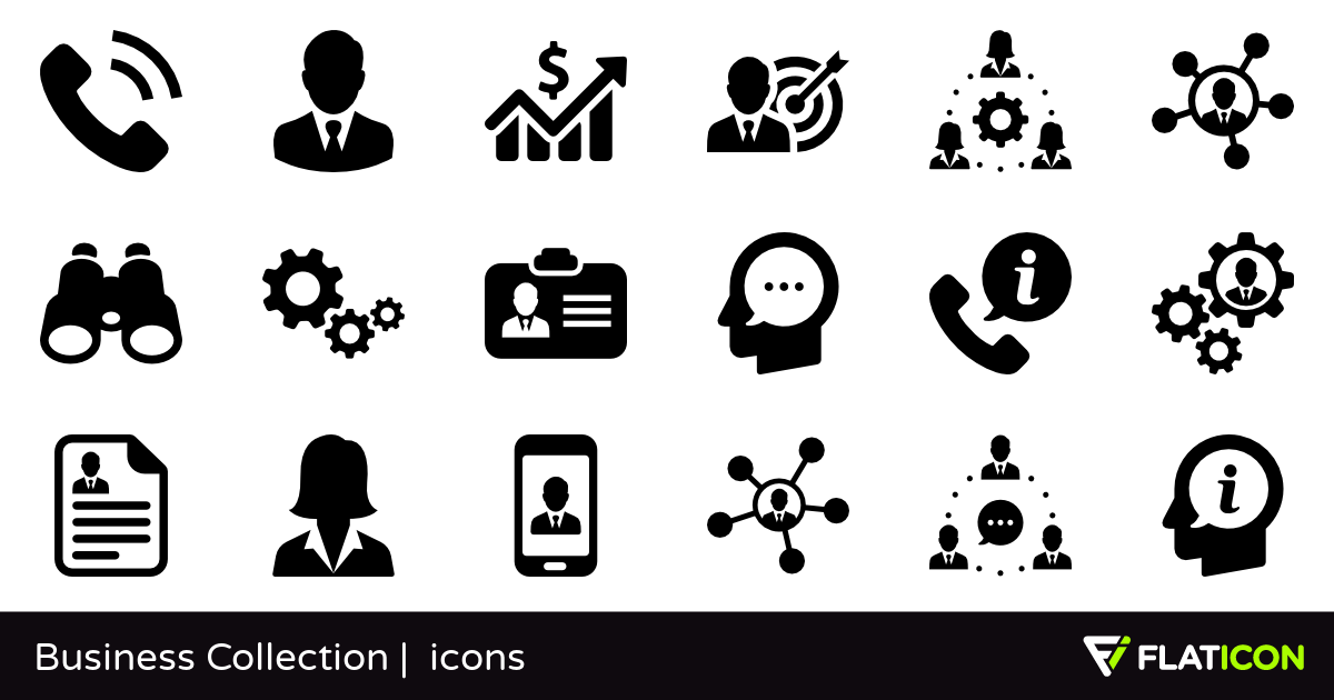 1200x630 Business Collection 90 Free Icons (Svg, Eps, Psd, Png Files)
