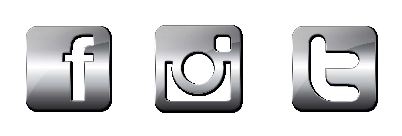 Facebook Twitter Instagram Vector