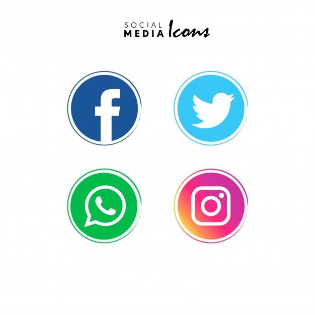 626x626 Logo Facebook Twitter Instagram Vector