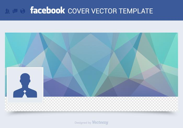 700x490 Free Facebook Cover Vector Template