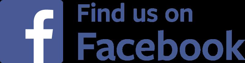800x206 Find Us On Facebook Vector Png Transparent Find Us On Facebook