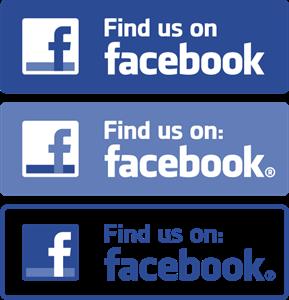 289x300 Find Us On Facebook Logo Vector (.eps) Free Download
