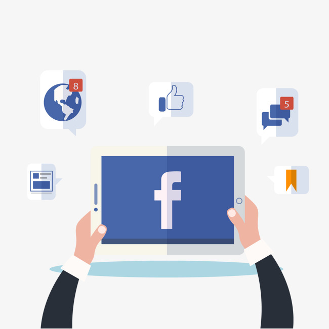650x651 Vector Social Network, Facebook, Flat, Like Png And Vector For