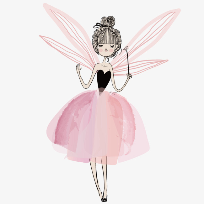 650x651 Wearing Fairy Wings, Wing, Fairy, Flower Fairy Png And Vector For