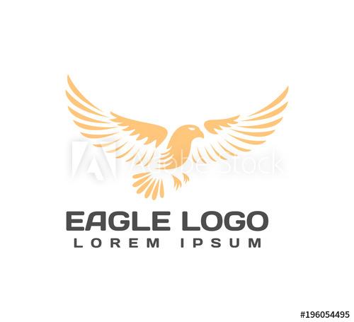 500x455 Eagle Logo. Eagle Icon. Eagle Head. Falcon Logo. Falcon Vector