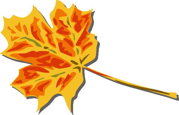 600x385 Fall Leaves Clip Art Free Vector 4vector