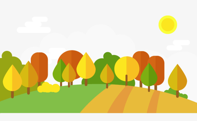 650x400 Maple Yellow Fall Foliage Vector, Fall, Leaves, Trees Png And