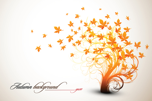 500x333 Set Of Leaf Fall Vector Backgrounds Vector 01 Free Download