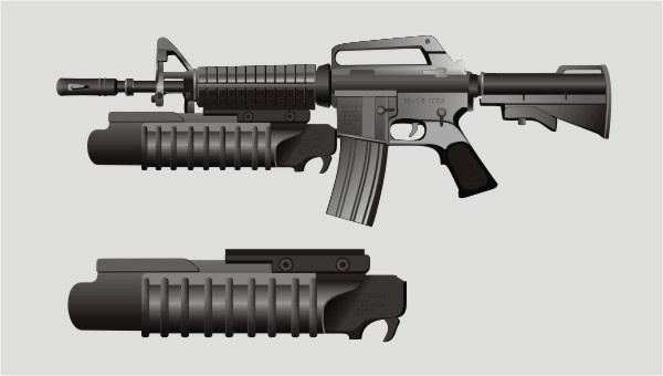 600x340 Fallen Soldier Boot And Rifle Free Vector Download (275 Free