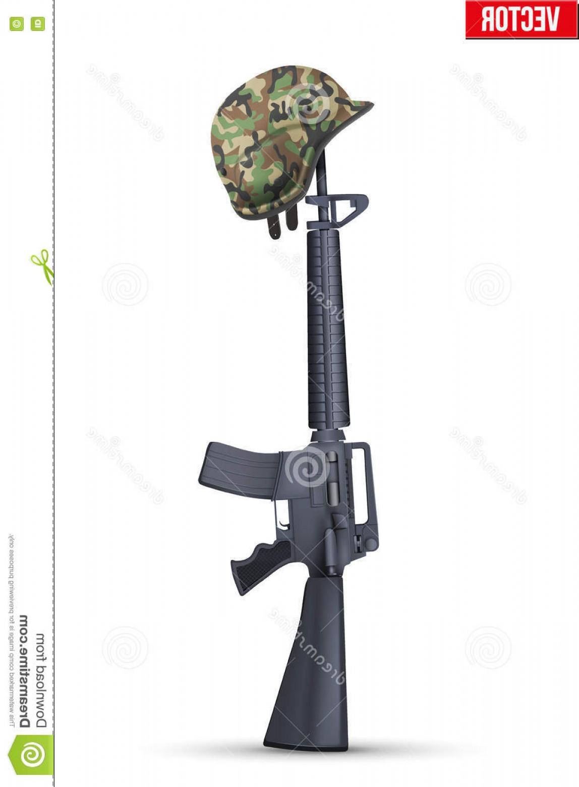 1148x1560 Stock Illustration Symbol Fallen Us Soldier Vector Illustration