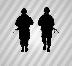 236x215 Soldier Silhouette