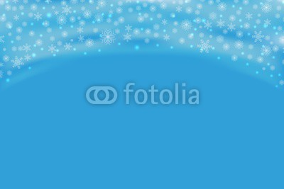 400x267 Falling Snow Vector Pattern. Snowflakes Decoration Effect Isolated