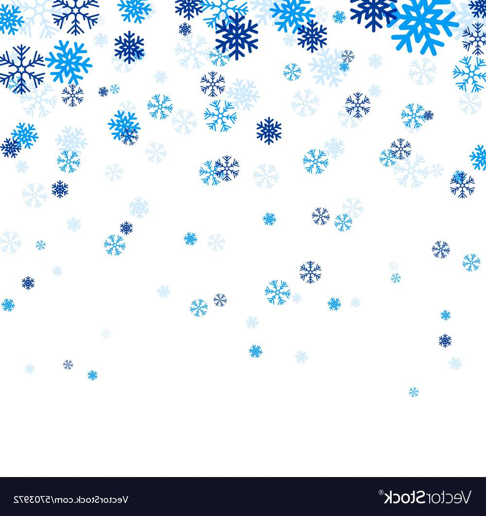 1000x1060 Best Falling Snowflake Vector Design Free Vector Art, Images