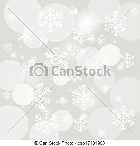 450x470 Colorful Illustration With Falling Snow On The Grey Background For