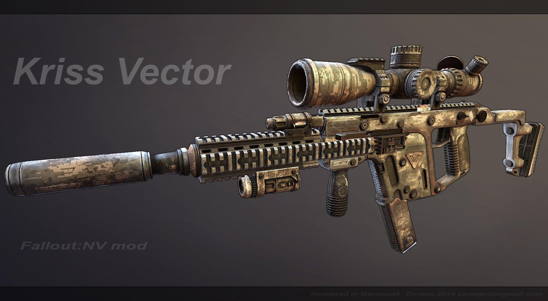 1920x1057 Fallout New Vegas Mod Kriss Vector