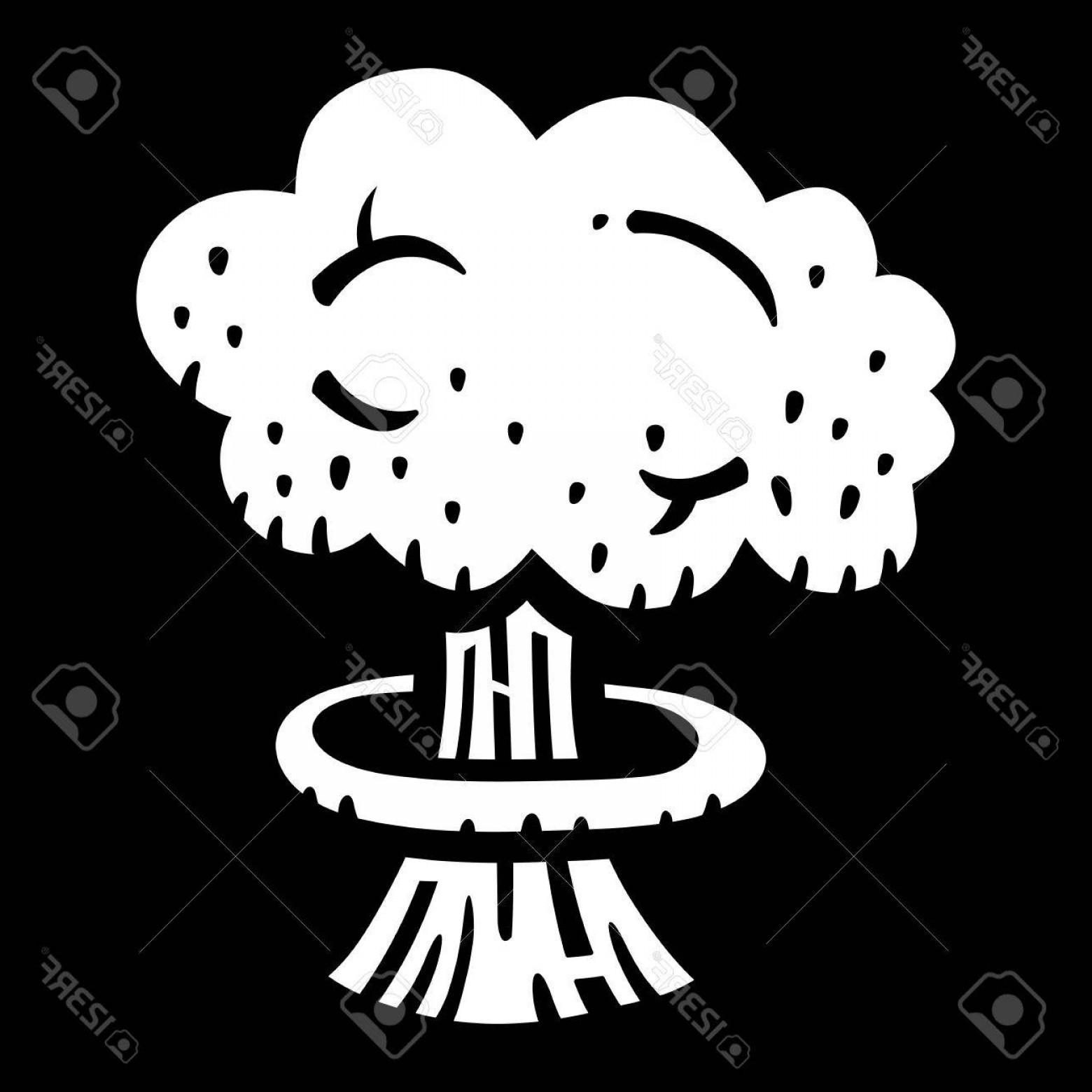 1560x1560 Photostock Vector Mushroom Cloud Atomic Nuclear Bomb Explosion
