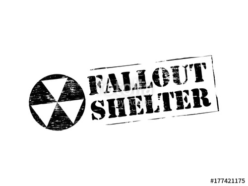 500x375 Fallout Shelter Rubber Stamp Stock Image And Royalty Free Vector