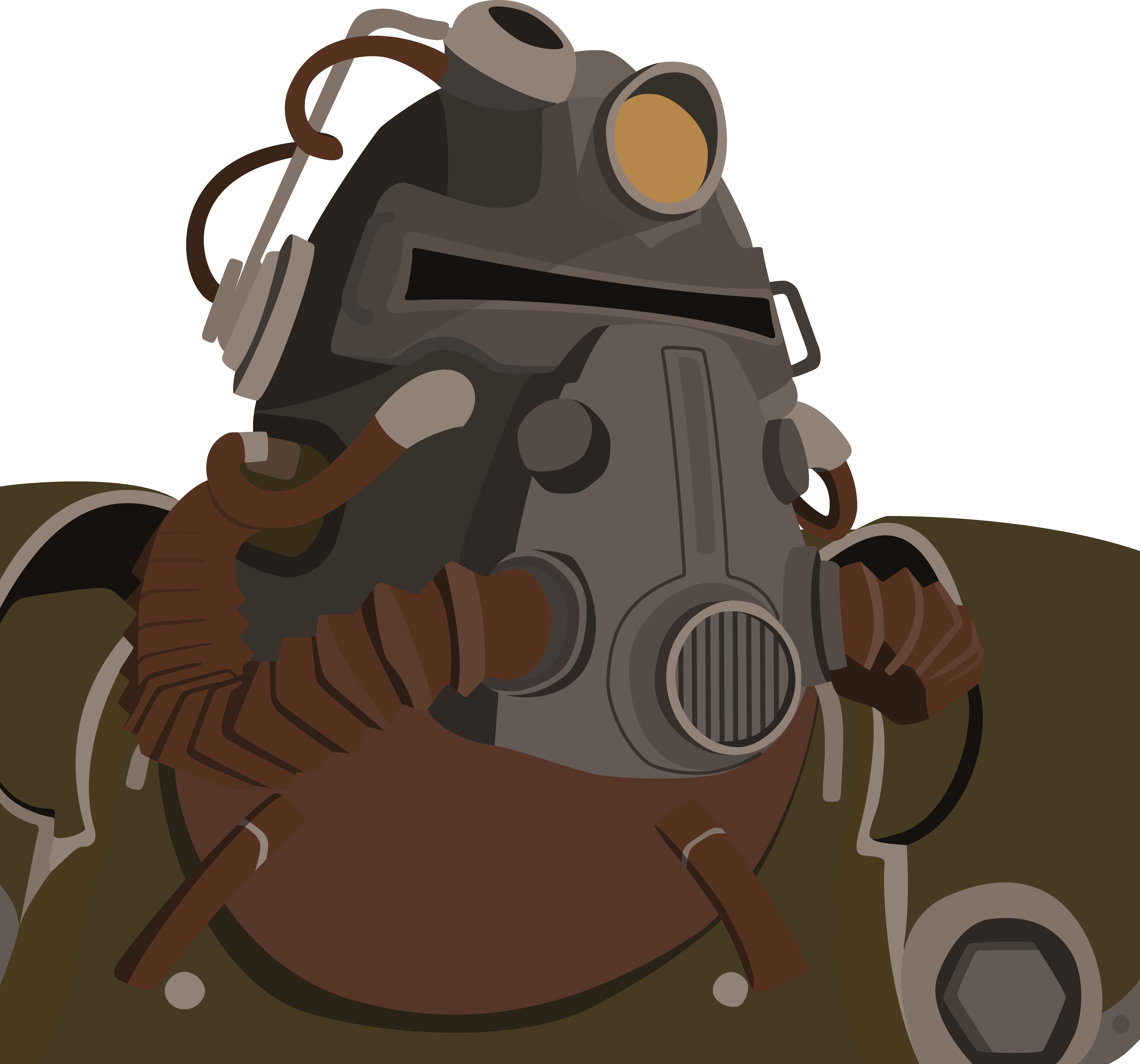 4167x3891 T 51b Vector Drawing Fallout