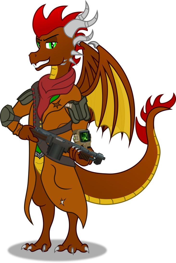 732x1092 Yifle (Fallout Version) By Vector Brony