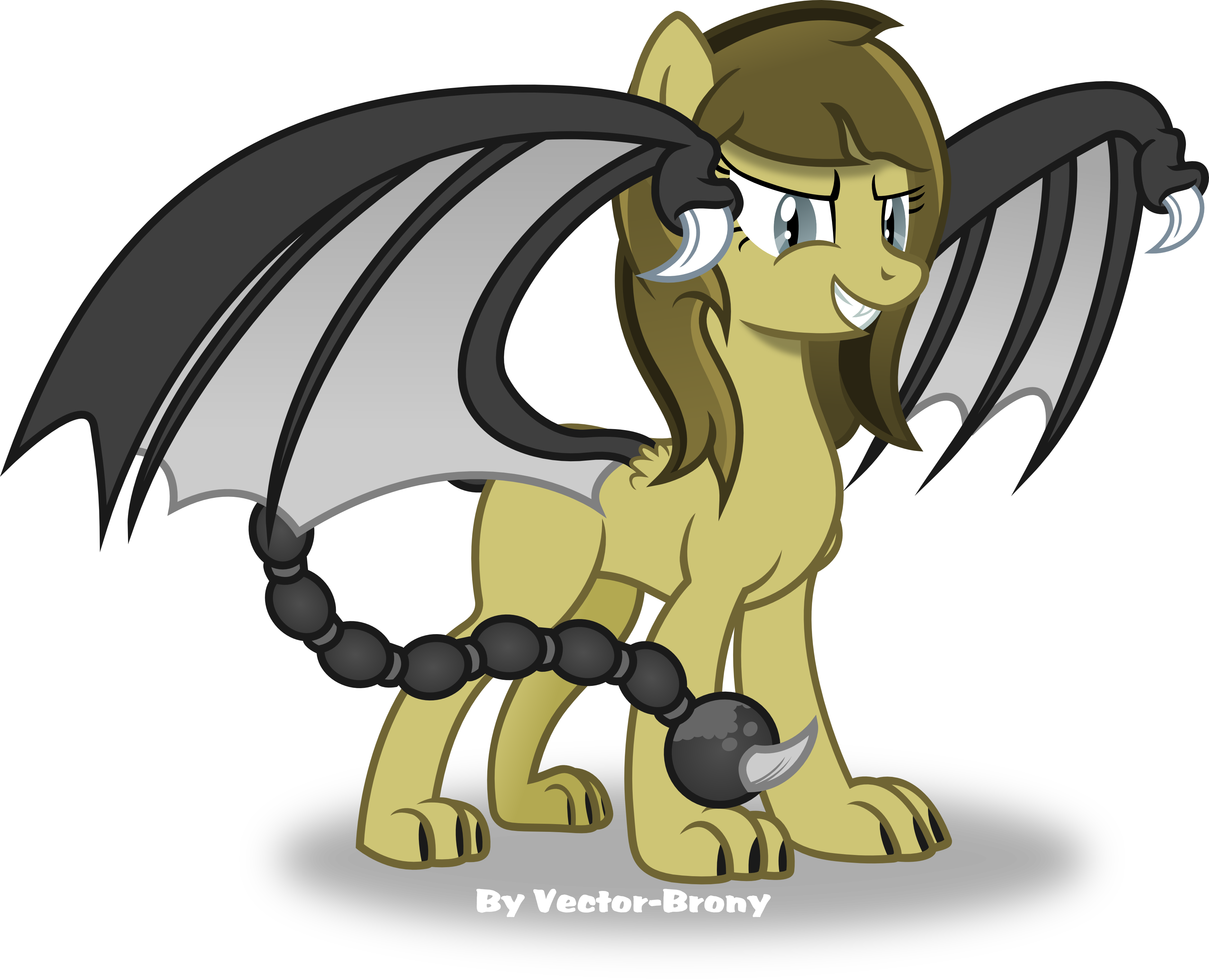3761x3049 Brass (Fallout Equestria Project Horizons) By Vector Brony On