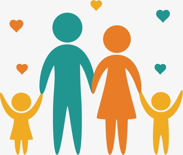 596x506 Happy Family Vector, Happy, Family, Family Png And Vector For Free