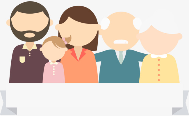 650x400 Vector Family, Family Vector, Family, Grandparents Png And Vector