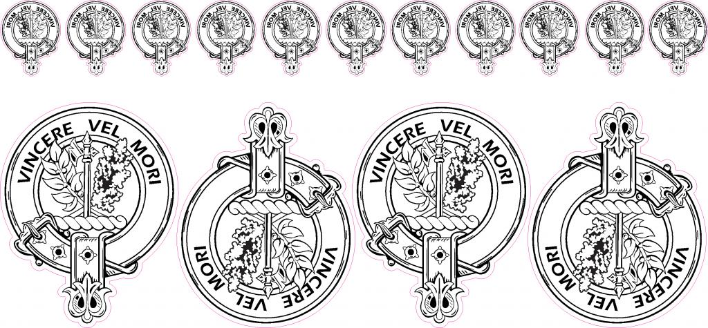 1024x475 Clan Maclaine Lochbuie Vincere Vel Mori Family Crest Vector