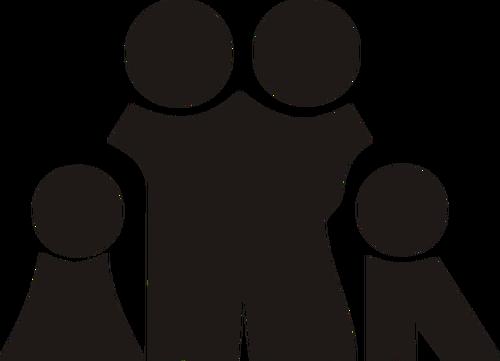 500x361 Family Icon Vector Public Domain Vectors