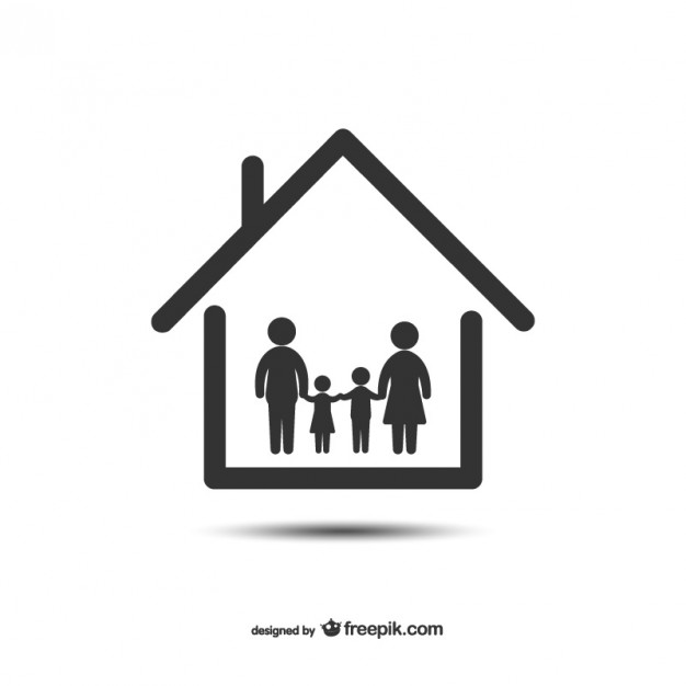 626x626 Home And Family Icon Vector Free Vector Download In .ai, .eps