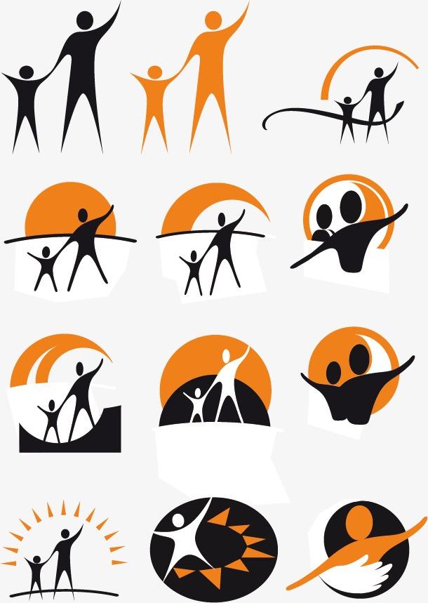 610x859 Family Icon Material, Family Vector, Icon Vector, Logo Mark Icon